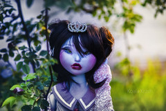 A tale for Monsters and Princesses (Koala Krash) Tags: blue cute monster ball doll dolls princess koala bjd mermaid joint krash jointed balljointdoll yokai darkdojy koalakrash