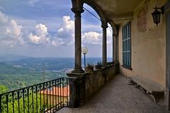 terrazza con vista.....Sacro Monte (rosy.c) Tags: sacro monte leggerezza cuore varese unesco 2amiche