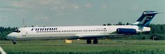 McDonnell-Douglas MD-82 (OH-LPA) (Sami Nordlund) Tags: airplane aircraft finnair mcdonnelldouglas lentokone md82 efpo ohlpa porinlentokentt