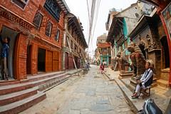 Patan Durbar Square, UNESCO World Heritage Site, Kathmandu, Nepal (CamelKW) Tags: nepal unescoworldheritagesite kathmandu 2016 patandurbarsquare everestpanorama
