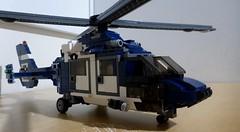 Victoria Police VH PVH (LonnieCadet) Tags: blue white 3 dark lego air bricks wing police australia melbourne victoria helicopter third blade custom dauphin 3rd heli eurocopter rotor moc vh essendon 2016 pvh bricklink