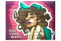 7041 (Massimiliano Fattizzo p.) Tags: street blackandwhite italy streetart milan colors graffiti colours milano colori