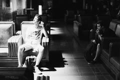 Leaving LA (jamie.jones113) Tags: california light blackandwhite bw film monochrome zeiss 35mm canon 50mm la losangeles streetphotography 35mmfilm unionstation delta3200 ilford ze filmgrain elan7 ilforddelta3200 carlzeiss canonelan7 ilfordfilm planart1450 planar5014ze