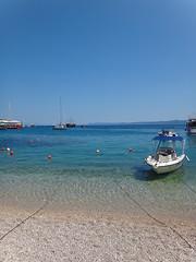 Beach at Bol (20denier) Tags: sea beach boat croatia bol bra