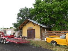 The Old Train Depot (jimmywayne) Tags: railroad newmexico train downtown folsom historic depot smalltown unioncounty