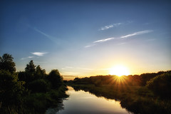 Bright Light (Jim Skovrider) Tags: sunset sky nature nikon d750 fullframe tamron randers guden colorefexpro randersfjord niksoftware adobephotoshoplightroom nikonfx nrre theriverguden sp2470mmf28divcusd nikonfxshowcase nikond750