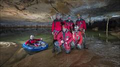 Akuandi II (Jose Cantorna) Tags: underground lago agua nikon cave gruta bote navarra cueva d610 akuandi