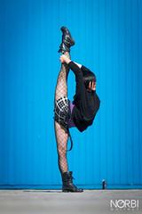 Arisa Meguro (JugglerNorbi) Tags: girl japanese artist circus strong split contortion flexible oversplit