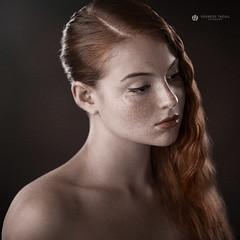 Ilaria II (Lo_straniero) Tags: portrait project photographer redhead freckles fotografo photoretouch younesstaouil wwwyounesstaouilcom