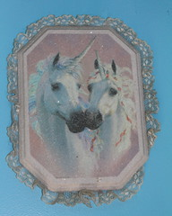 NaNa's Unicorns (KathleenYvonne) Tags: old family light white house ontario canada black history home window canon dark nude fun happy doors darkness antique basement crest historic creepy collections dime ghosts stories unicorn cellar beaded 2014 villahe