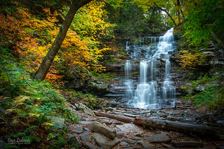Ricketts Glen State Park - Fall Hike 10-08-14