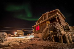 OCT_8589s (savillent) Tags: travel november winter sun snow signs canada cold weather night stars landscape francis lights solar nikon northwest nt space alien arctic anderson aurora northern saville astrology territories borealis cme 2014 tuktoyaktuk