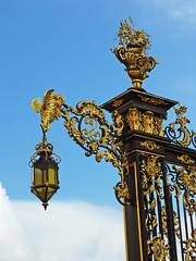 Nancy, Place Stanislas (Micleg44) Tags: france place nancy lorraine grilles pologne stanislas leszczynski louisxv meurtheetmoselle jeanlamour artrocaille