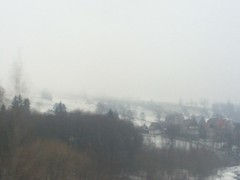 XVI (javinavarrete_) Tags: christmas wood xmas winter sky mist snow tree fog forest polska lanscape polonia