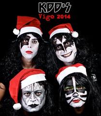 navidad kiss rockroll grupo feliz kdd vigo felicitacion papanoel kdds