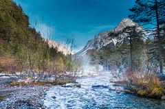 Loisachquellen bei Biberwier (AT) (Simon Neutert) Tags: schnee alps austria tirol sterreich wasser pentax postcard ngc kitlens berge bach alpen fluss wandern wander wanderweg winterlandschaft biberwier zugspitzarena pentaxlife pentaxart quellfluss pentaxk5ii
