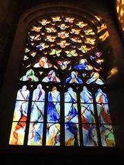 Vitrail de Kim En Joong - Eglise du Kreisker - St Pol de Lon - Finistre - Hiver 2014 (jeanyvesriou1) Tags: art church contemporaryart vitrail glise stainedglasswindow finistre stpoldelon kreisker eglisedukreisker