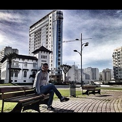 me #throwback #tanger #tangier #instaphone #selfportrait... (alielboukri) Tags: selfportrait me maroc tangier tanger throwback instaphone winter2010 kornich uploaded:by=flickstagram instagram:photo=3274128755756383149131229