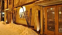 Restaurant, Otaru, Hokkaido (David McKelvey) Tags: winter light snow festival japan canal nikon hokkaido path february otaru 2010 d5000 shiribeshi