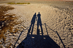USA_150 (jjay69) Tags: travel shadow vacation usa holiday hot nature america landscape us shadows unitedstates desert dry roadtrip journey shade heat deathvalley np wilderness arid badwaterbasin saltpan deathvalleynationalpark belowsealevel intheshadow