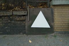 Thirty Triangles Thirty Days (österreich_ungern) Tags: streetart berlin art 30 triangles project collection plain 44 mdf triangular pl thirty dreieck dreiecke dreisig