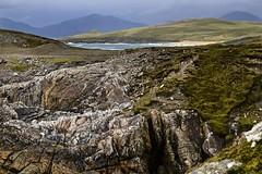 Outer Edge (Julia Benbow) Tags: sea scotland rocks waves harris isle