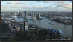2014-01-11 Rotterdam - View from the Euromast - 11 (Topaas) Tags: rotterdam neworleans montevideo euromast erasmusbrug wpc derotterdam norwegiancruiseline maastoren sonya77 westerlaantoren sonyslta77 sonyslta77v norwegiangetaway