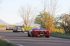 Evening Sun. (Florian Joly Photography) Tags: auto red summer usa money hot classic cars ford love canon vintage wow photography amazing cool italia tour martini porsche 40 florian gt luxury v8 carrera millions supercars combo gt40 optic 2014 906 t40 rsr joly 60d floflo69