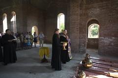187. Освящение крестов в Адамовке 2009 г