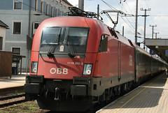 117419 1116 282 Attnang-Pucheim Station 26.06.09 (31417) Tags: austria obb 1116 attnangpucheim 1116282
