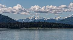 Glacier Bay (Allen Castillo) Tags: mountain snow alaska clouds landscape bay nikon glacier d610 nikcolorefex