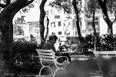 Relaxing (fransjp) Tags: old blackandwhite bw relax blackwhite 85mm d610 f18g