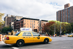 NYC Classic (ahh.photo) Tags: street city travel newyork classic ford village manhattan cab taxi fujifilm crownvic xt1 xf23mmf14r dumbanddumberto