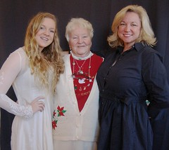Three Generations of Beautiful Women: Tara Ryan, Pat Bonner and Mary Beth Bonner Ryan