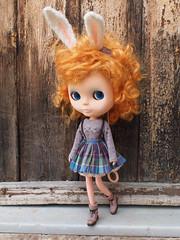 Lilac Winter Bunny set