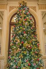 Plaza Hotel Christmas Tree, Midtown Manhattan, New York City (jag9889) Tags: nyc newyorkcity usa holiday ny newyork festive hotel unitedstates manhattan lodging unitedstatesofamerica 5thavenue landmark christmastree midtown fifthavenue 2014 jag9889 20141215