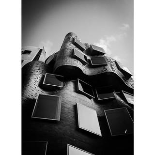 Curved Wing #uts #FrankGehry #DrChauChakWing #architecture #sydney #streetscape #australia #bnw_sydney #mono #blackandwhite #monochrome #bnw_universe #bnw_captures #bnw_life #bnw_globe #icu_aussies #blacknwhite_perfection #bnw_demand #bnw_worldwide #bnw_d