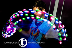 Crazy Lights (JohnBorsaPhoto) Tags: show life light boy party man guy club night fun lights dance sticks buffalo neon glow cross dancing bright stage performing trails dancer dude nightclub led gloves lgbt glove rave glowing nightlife perform lit straight dresser performer raver marcella clubber trailing gloving