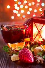 Christmas mulled wine with spices (Speleolog) Tags: christmas wood xmas winter red food orange holiday hot cup glass cookies closeup fruit season table lights star wooden cozy warm advent wine tea drink sweet cinnamon traditional spice seasonal beverage decoration atmosphere twinkle noel celebration delicious homemade alcohol heat fir stick spicy punch aromatic grog anise mulled spiced glintwine