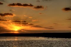 Tramonto al mare (socrates197577) Tags: sardegna nikon italia tramonto nuvole mare hdr nuvoloso photomatix