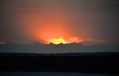 Kazinga Channel Sunset, Uganda (Rod Waddington) Tags: africa sunset uganda channel chasing