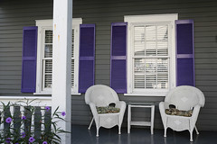 Purple (Bert#) Tags: travel usa white architecture keys purple chairs florida pair varanda