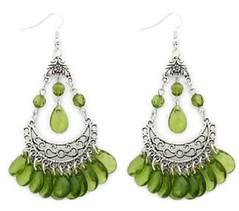 Glimpse of Malibu Green Earrings P5812-2