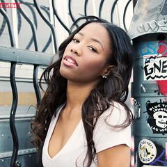 Porsche (aesthos) Tags: vegas portrait woman streetart black girl beautiful fashion fun graffiti model eyes pretty shoot lasvegas tag lips