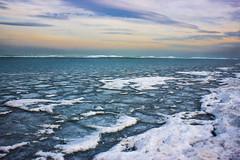 Frozen Lake Balaton (pecsilinda) Tags: winter lake ice canon eos frozen hungary balaton sifok 600d tl