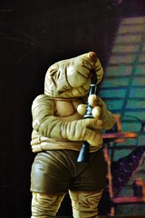 Droopy McCool original member of the Max Rebo band. (Felinomoruno) Tags: droopy mccool rappertunie max rebo band return jedi dioramas figures collection star wars tatooine leia han solo luke skywalker sy snootles greeata lyn me yuzzum barge sarlacc pit chewaca r2d2 c3po science fiction movies george lucas skiff guards planet darth vader droopymccool retur photos hasbro vintage the jabbas palace starwars