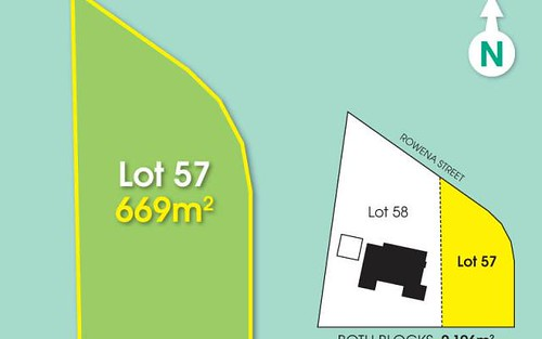 Lot 57, 56 Rowena Street, Kenmore NSW