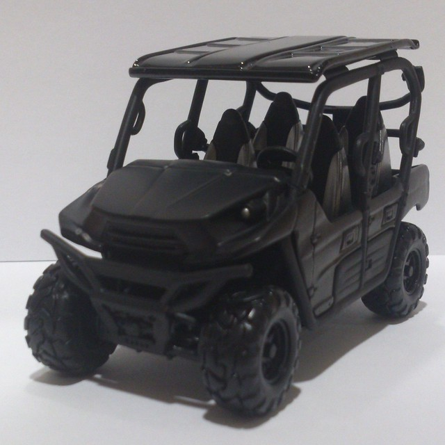 Jurassic World 2015 (Jurassic Park 4) Maisto Kawasaki Teryx4 LE Version 3 Toy Diecast Replica 1/32