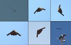 B2 over Tujunga, collage (edhiker) Tags: hawk b2 stealth edhiker b2bomber t1i