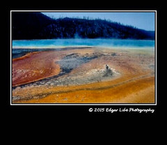 Colors of Yellowstone NP 07 (Edgar Libe Photography) Tags: park usa montana national yellowstone wyoming geyser midway